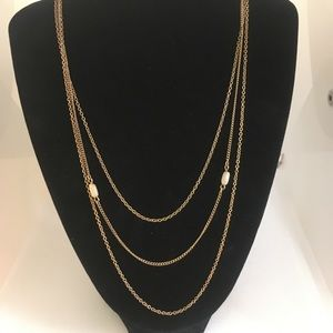 Avon triple strand necklace